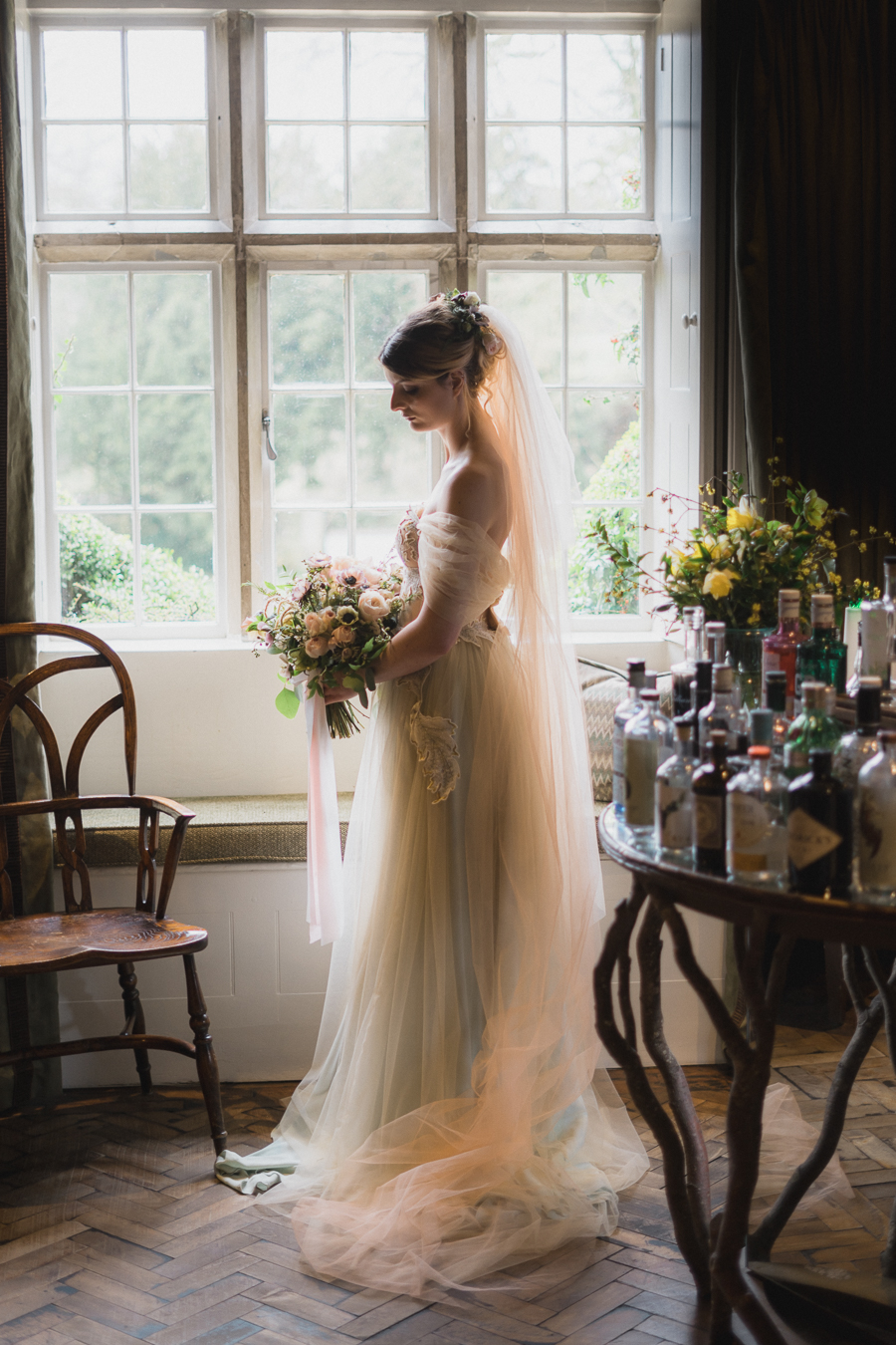Candyfloss romance from the secret garden at Barnsley House, image credit Red Maple Photography (6)