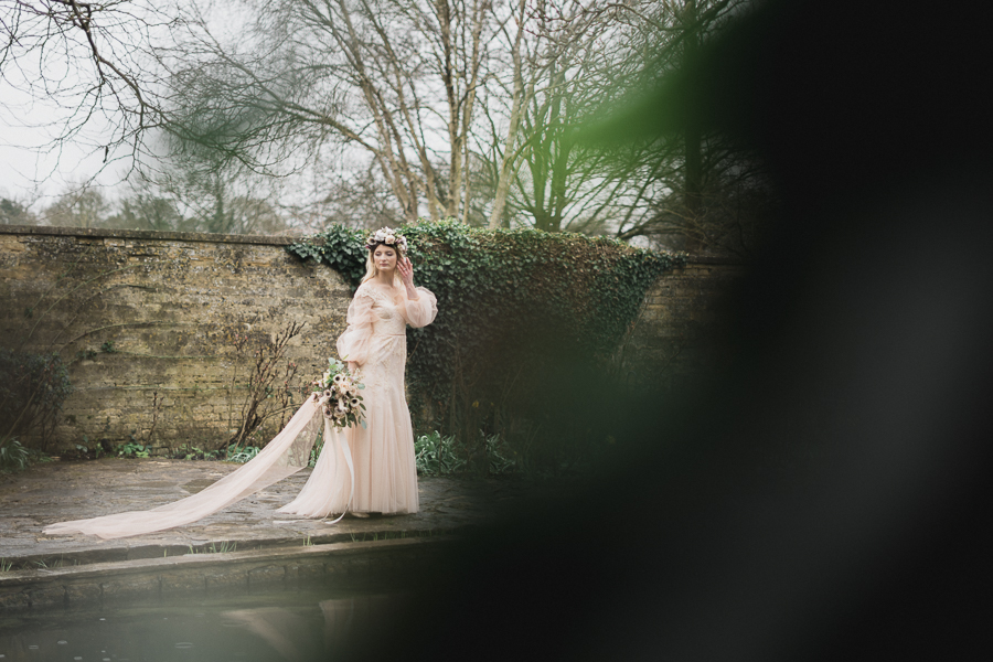 Candyfloss romance from the secret garden at Barnsley House, image credit Red Maple Photography (27)