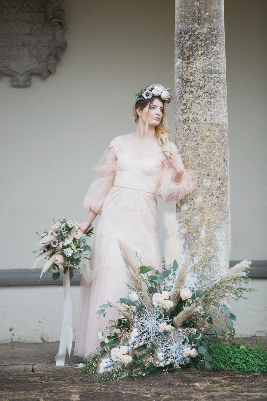 Candyfloss romance from the secret garden at Barnsley House, image credit Red Maple Photography (33)