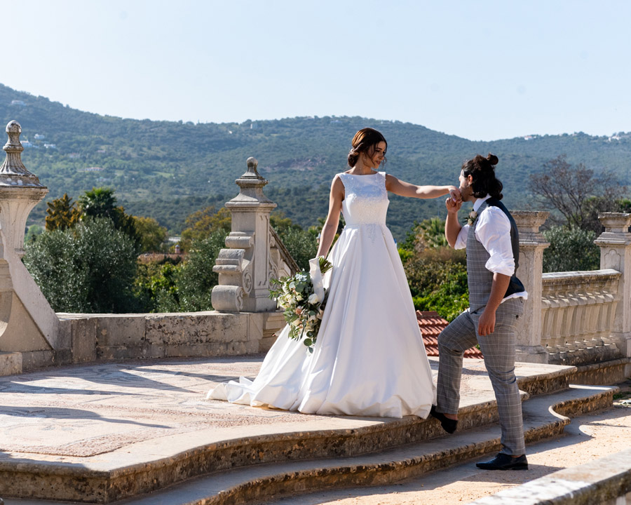 Beautiful olive grove and terracotta wedding style from the Algarve, with Pudding & Plum Photography (36)