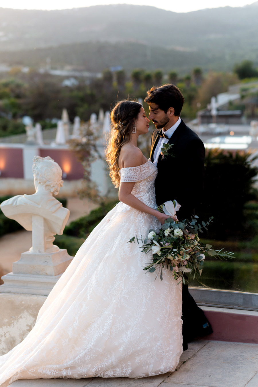 Beautiful olive grove and terracotta wedding style from the Algarve, with Pudding & Plum Photography (46)