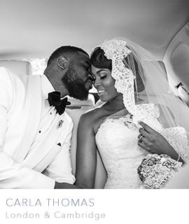 Cambridge and London wedding photographer Carla Thomas