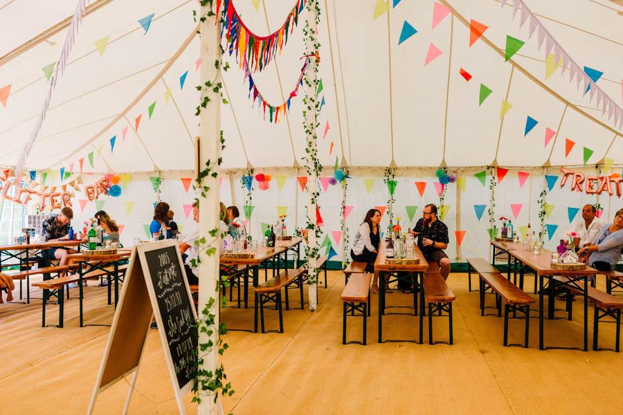 Dan & Alicia's glorious festival wedding, with Rachel Burt Photography (8)