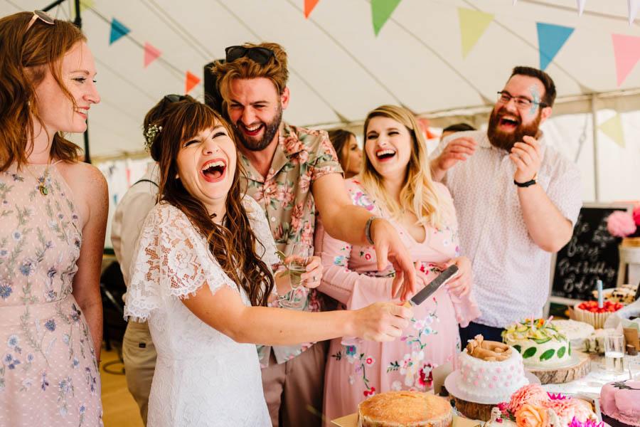 Dan & Alicia's glorious festival wedding, with Rachel Burt Photography (15)