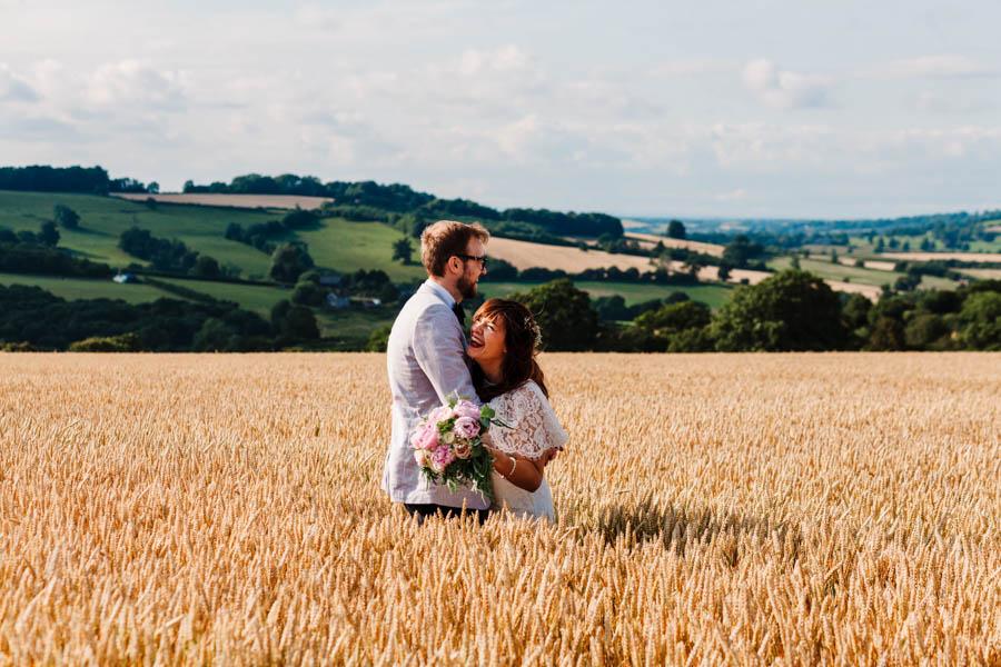 Dan & Alicia's glorious festival wedding, with Rachel Burt Photography (21)