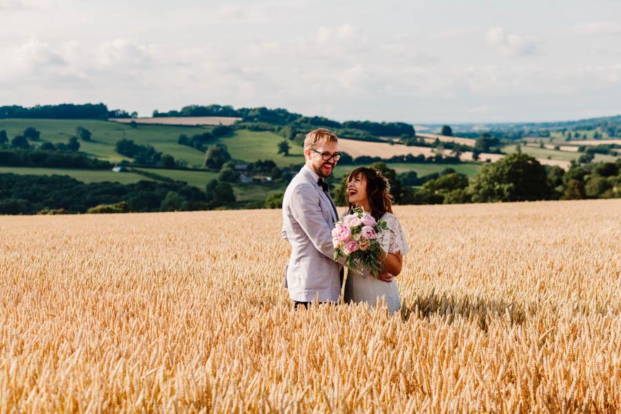Dan & Alicia's glorious festival wedding, with Rachel Burt Photography (22)