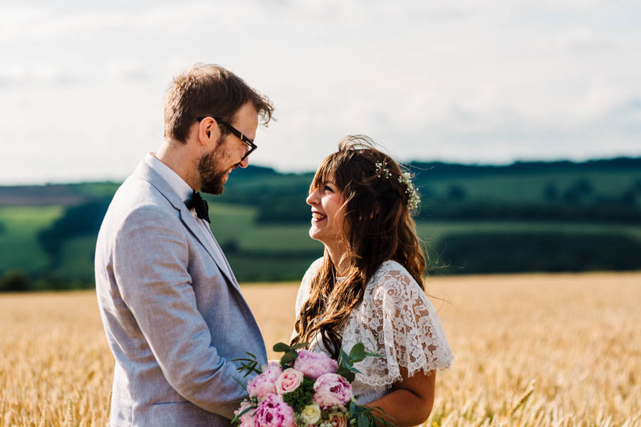 Dan & Alicia's glorious festival wedding, with Rachel Burt Photography (25)