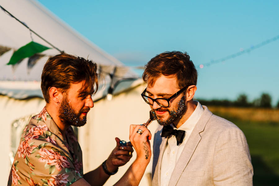 Dan & Alicia's glorious festival wedding, with Rachel Burt Photography (31)