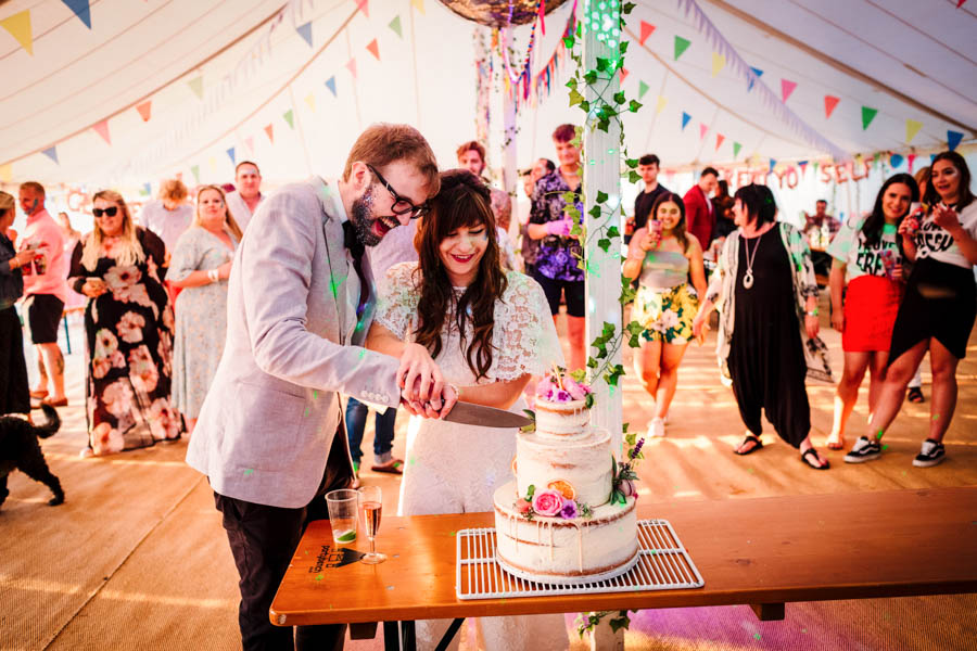 Dan & Alicia's glorious festival wedding, with Rachel Burt Photography (34)