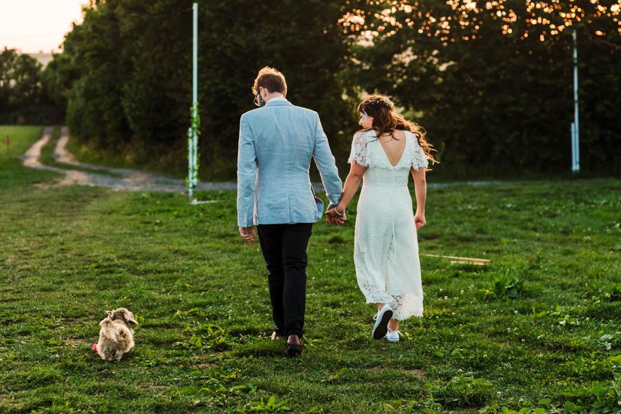 Dan & Alicia's glorious festival wedding, with Rachel Burt Photography (37)