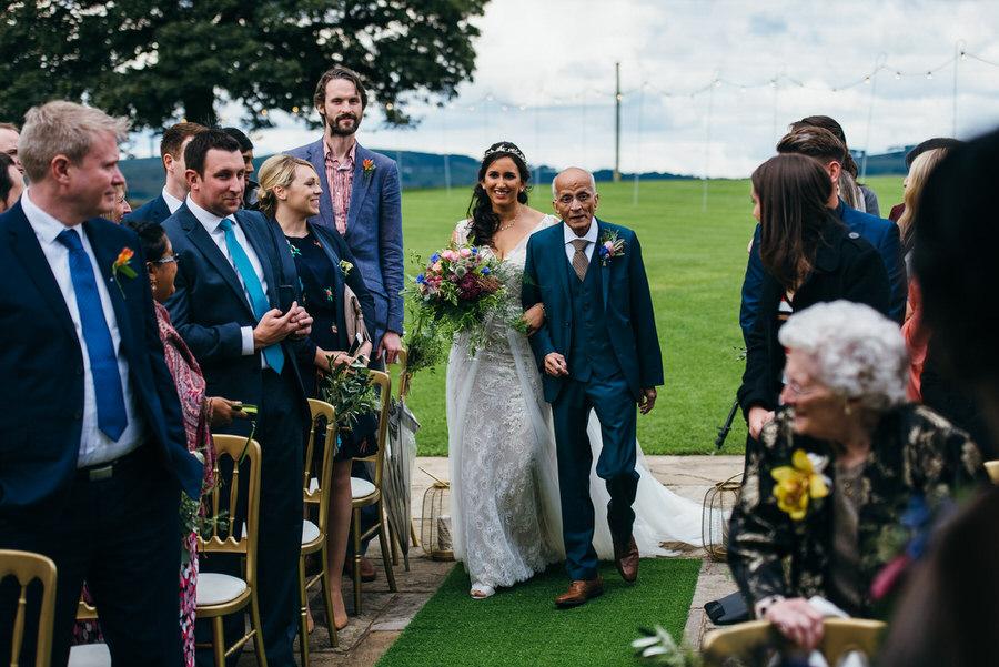 Jonny & Soma's elegant rustic Heaton House Farm wedding, with Simon Biffen Photography (15)
