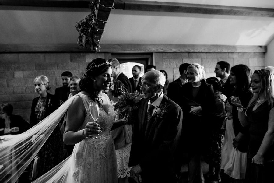 Jonny & Soma's elegant rustic Heaton House Farm wedding, with Simon Biffen Photography (20)