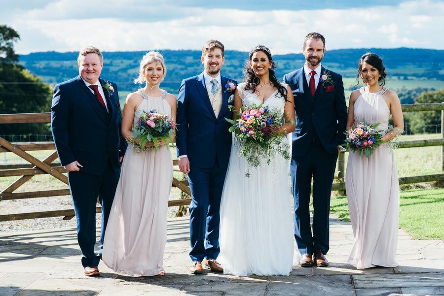 Jonny & Soma's elegant rustic Heaton House Farm wedding, with Simon Biffen Photography (23)