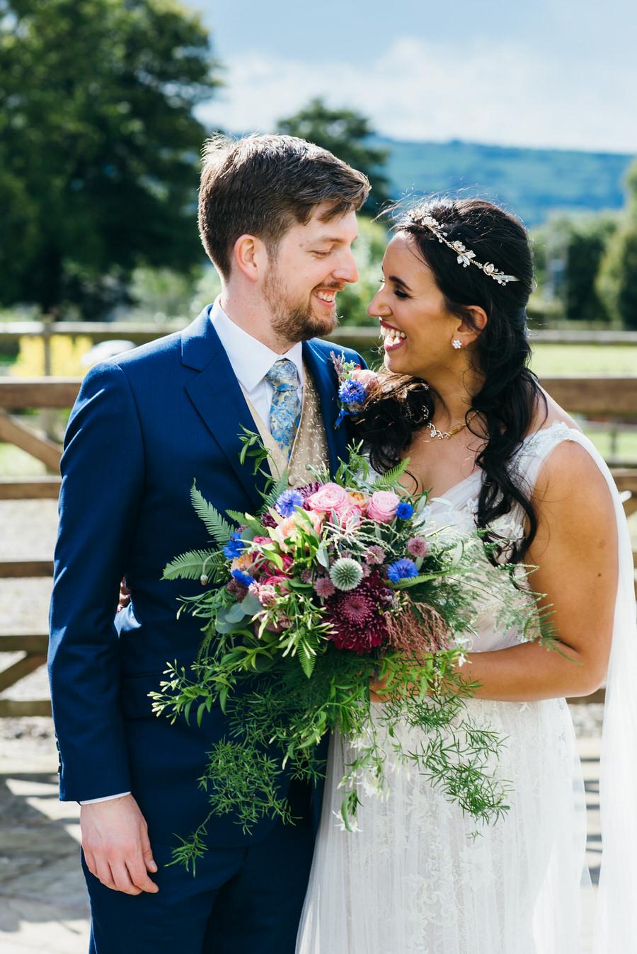 Jonny & Soma's elegant rustic Heaton House Farm wedding, with Simon Biffen Photography (24)