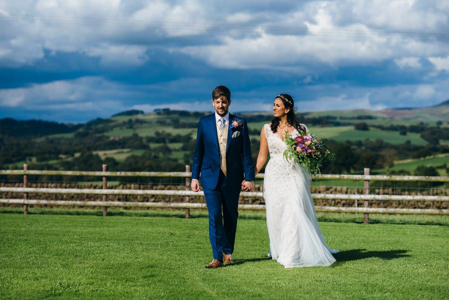Jonny & Soma's elegant rustic Heaton House Farm wedding, with Simon Biffen Photography (27)