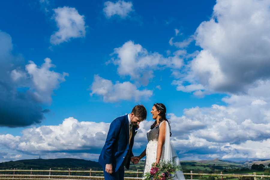 Jonny & Soma's elegant rustic Heaton House Farm wedding, with Simon Biffen Photography (28)