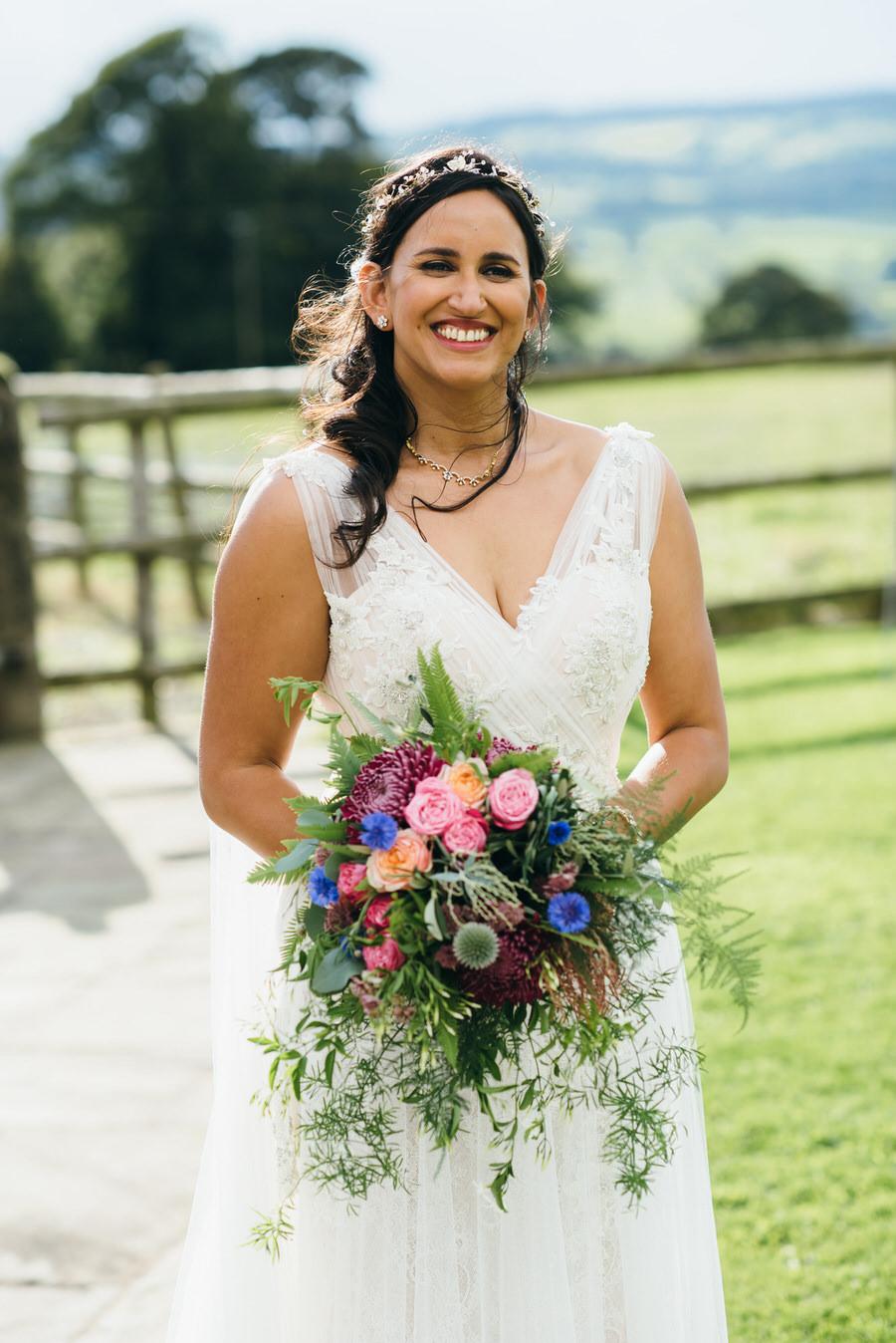 Jonny & Soma's elegant rustic Heaton House Farm wedding, with Simon Biffen Photography (45)