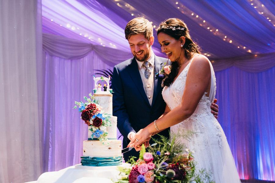 Jonny & Soma's elegant rustic Heaton House Farm wedding, with Simon Biffen Photography (61)