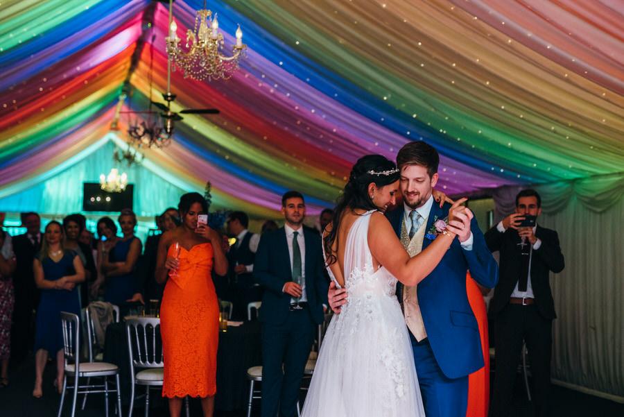 Jonny & Soma's elegant rustic Heaton House Farm wedding, with Simon Biffen Photography (62)