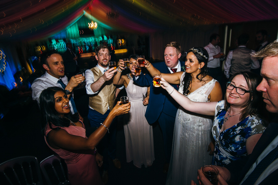 Jonny & Soma's elegant rustic Heaton House Farm wedding, with Simon Biffen Photography (64)