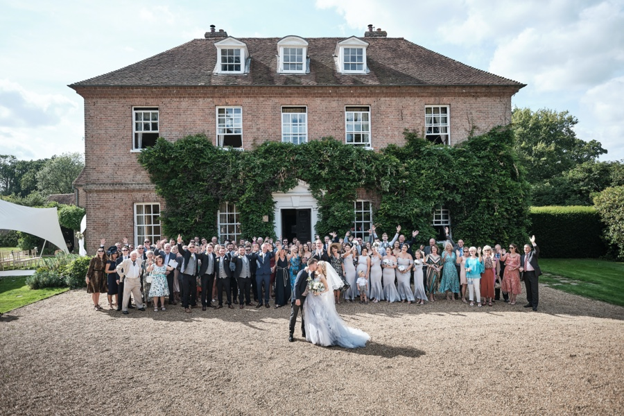 Tilly & Mike's classic English wedding at Sprivers Mansion, with Howling Basset Photography (22)