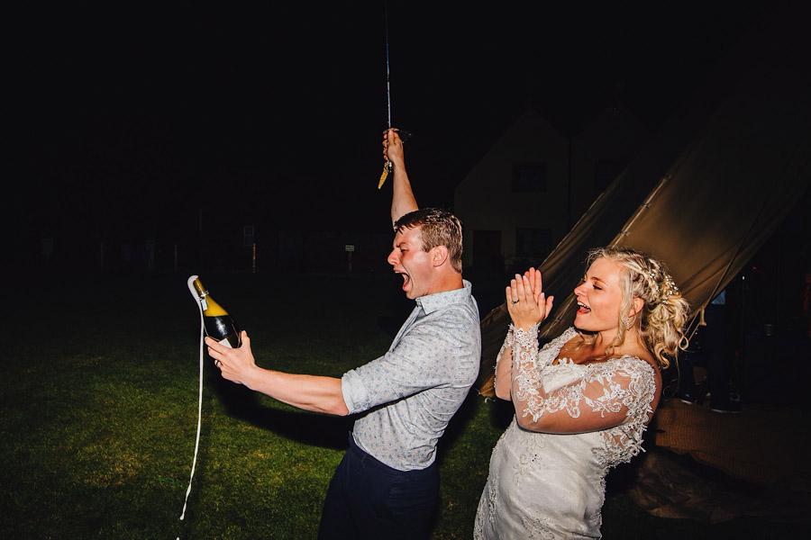 Lexi & Chris's joyful festival wedding, with JS Coates Photography (46)