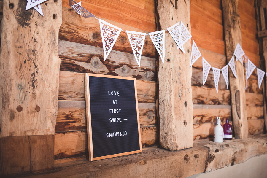 Jo & James's beautifully rustic Pimhill Barn wedding, with Brightwing Photography (6)