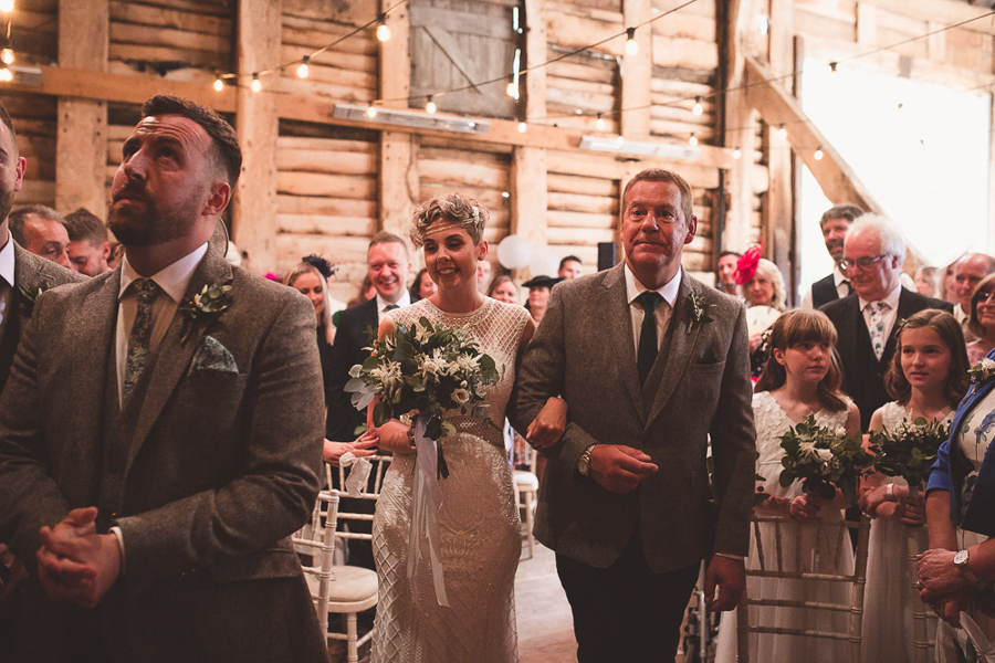 Jo & James's beautifully rustic Pimhill Barn wedding, with Brightwing Photography (20)