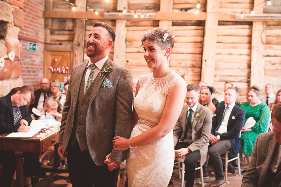 Jo & James's beautifully rustic Pimhill Barn wedding, with Brightwing Photography (21)