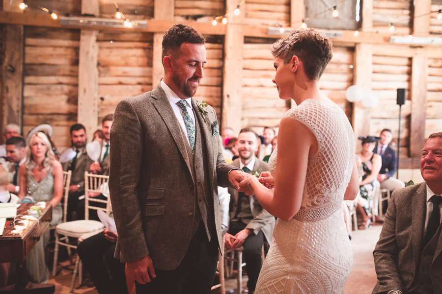 Jo & James's beautifully rustic Pimhill Barn wedding, with Brightwing Photography (22)
