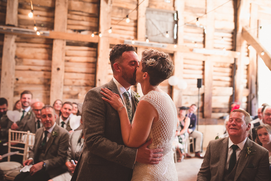 Jo & James's beautifully rustic Pimhill Barn wedding, with Brightwing Photography (23)