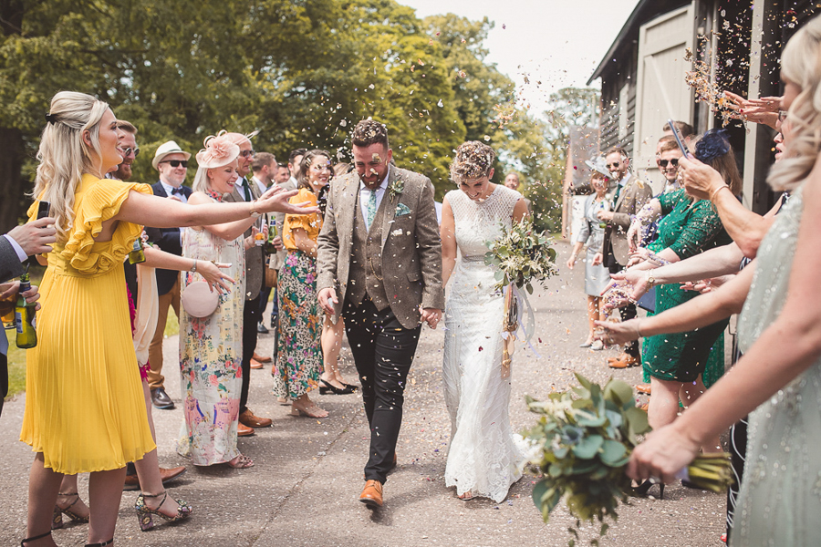 Jo & James's beautifully rustic Pimhill Barn wedding, with Brightwing Photography (26)