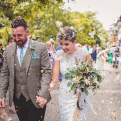 Jo & James's beautifully rustic Pimhill Barn wedding, with Brightwing Photography