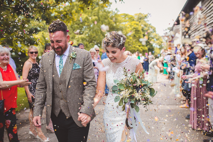 Jo & James's beautifully rustic Pimhill Barn wedding, with Brightwing Photography (27)