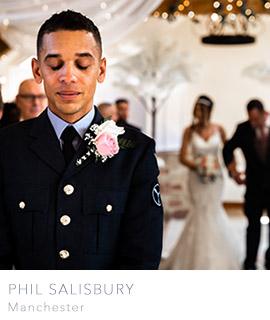 Manchester wedding photographer Phil Salisbury Photography