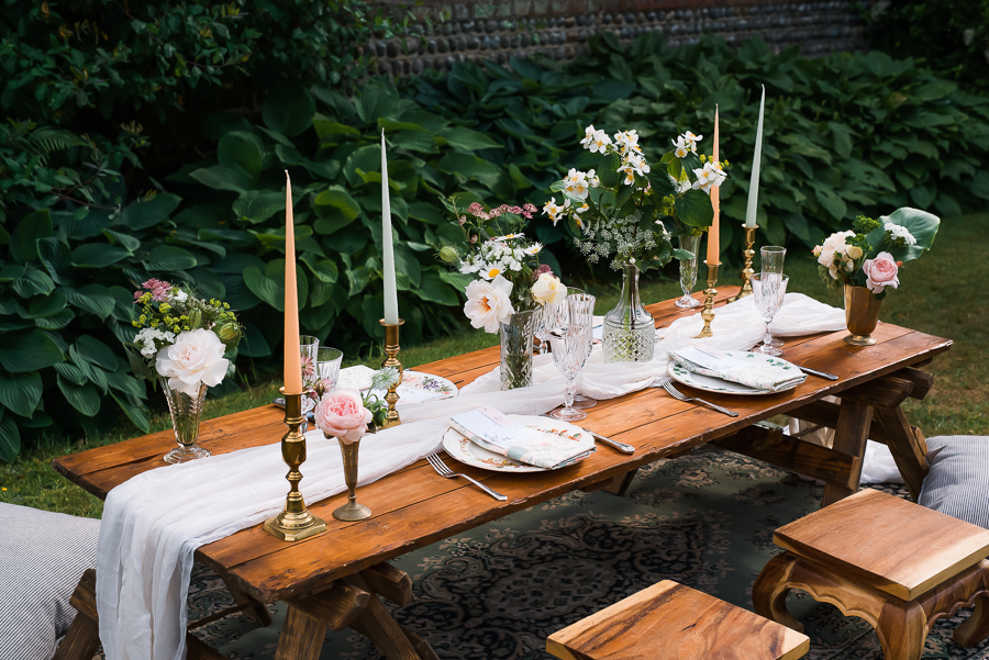 Summer vintage wedding styling inspiration, with Lauren Beth Photography (6)