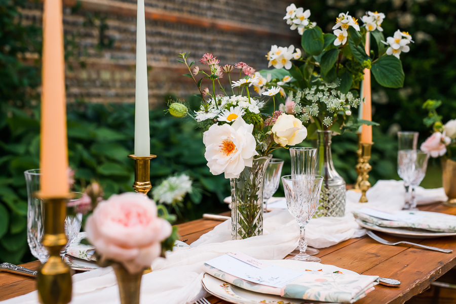 Summer vintage wedding styling inspiration, with Lauren Beth Photography (14)