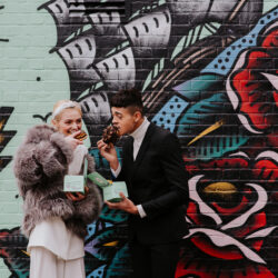 Be unique: a fresh and modern Shoreditch elopement, with Michelle Cordner Photography