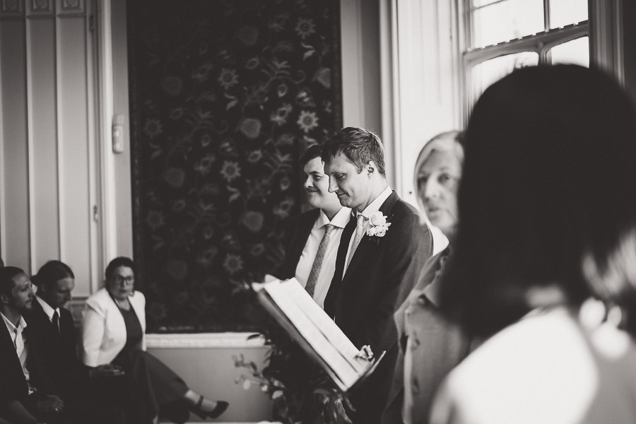 Tom and Ahram's chic, modern Nonsuch Mansion wedding, with Charlie Campey Photography (15)