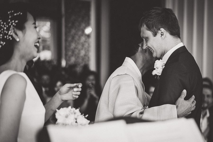 Tom and Ahram's chic, modern Nonsuch Mansion wedding, with Charlie Campey Photography (16)