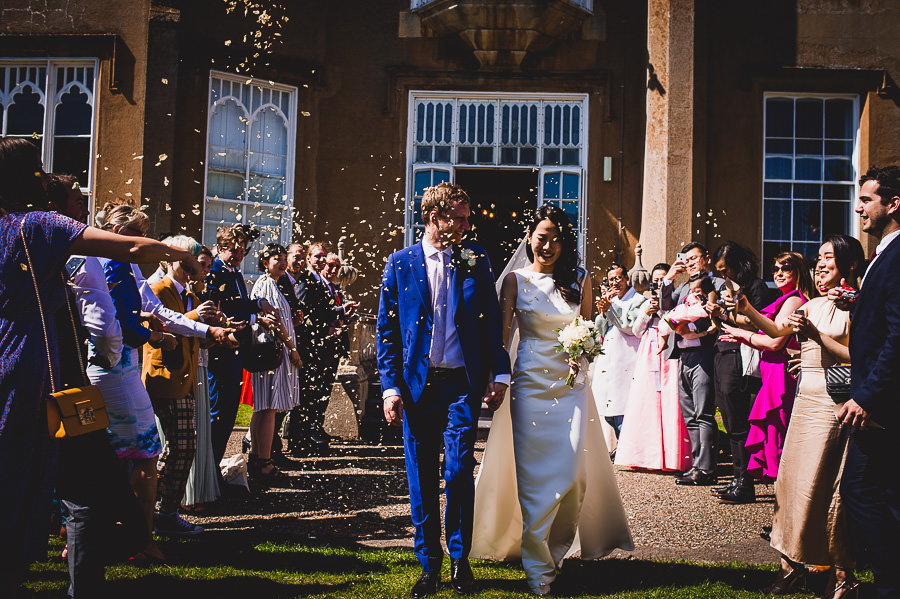Tom and Ahram's chic, modern Nonsuch Mansion wedding, with Charlie Campey Photography (21)