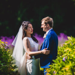 Tom and Ahram's chic, modern Nonsuch Mansion wedding, with Charlie Campey Photography