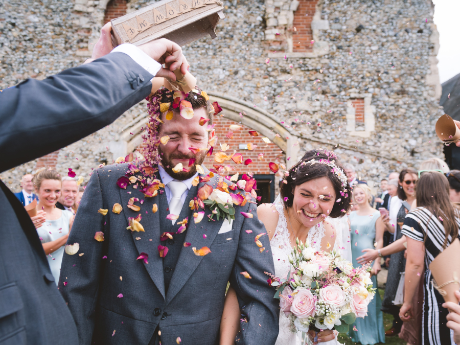 Real Wedding at Langley Abbey - Captured by Richard Perry Photography