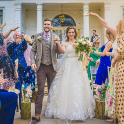 Sophie & Craig's creative and DIY wedding at Barrington Hall, with Damien Vickers Photography