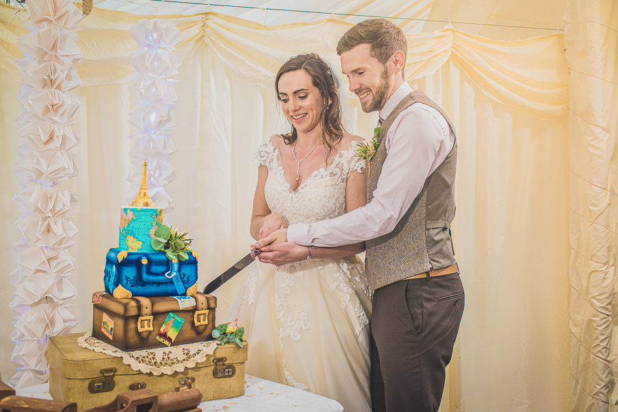 Sophie & Craig's creative and DIY wedding at Barrington Hall, with Damien Vickers Photography (40)