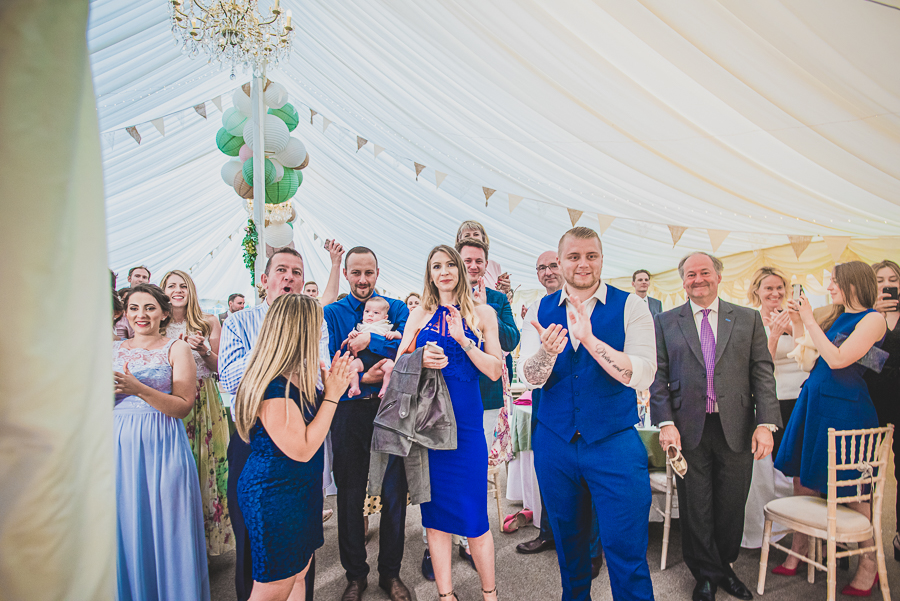 Sophie & Craig's creative and DIY wedding at Barrington Hall, with Damien Vickers Photography (43)