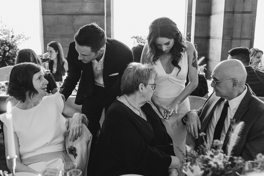 Michelle & Stephen's relaxed modern wedding at London's Town Hall Hotel, with York Place Studios (34)