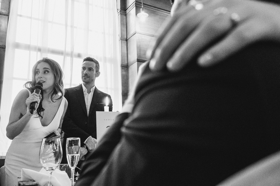 Michelle & Stephen's relaxed modern wedding at London's Town Hall Hotel, with York Place Studios (40)