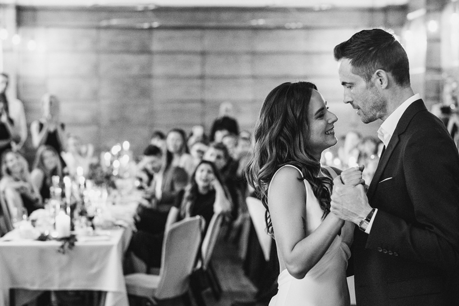 Michelle & Stephen's relaxed modern wedding at London's Town Hall Hotel, with York Place Studios (41)