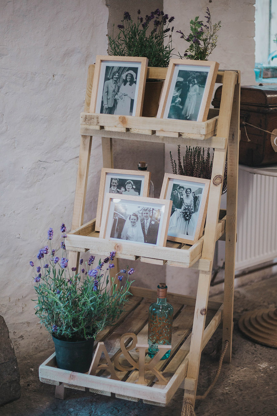 Kath & Adam's creative, DIY wedding at Wyresdale park, with Love Gets Sweeter and Claire Basiuk Photography (4)